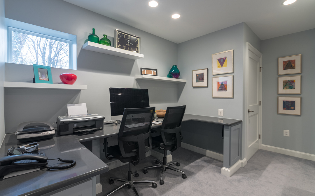 4 Reasons to Remodel Your Living Space Into a Home Office