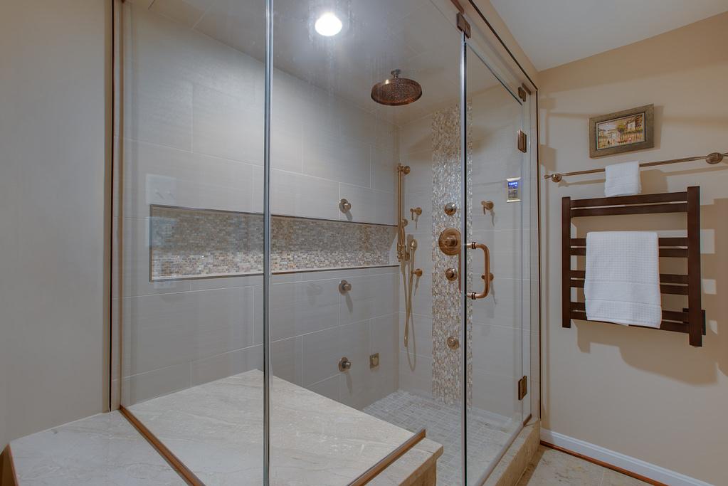 Luxury Shower Remodel in Northern Virginia
