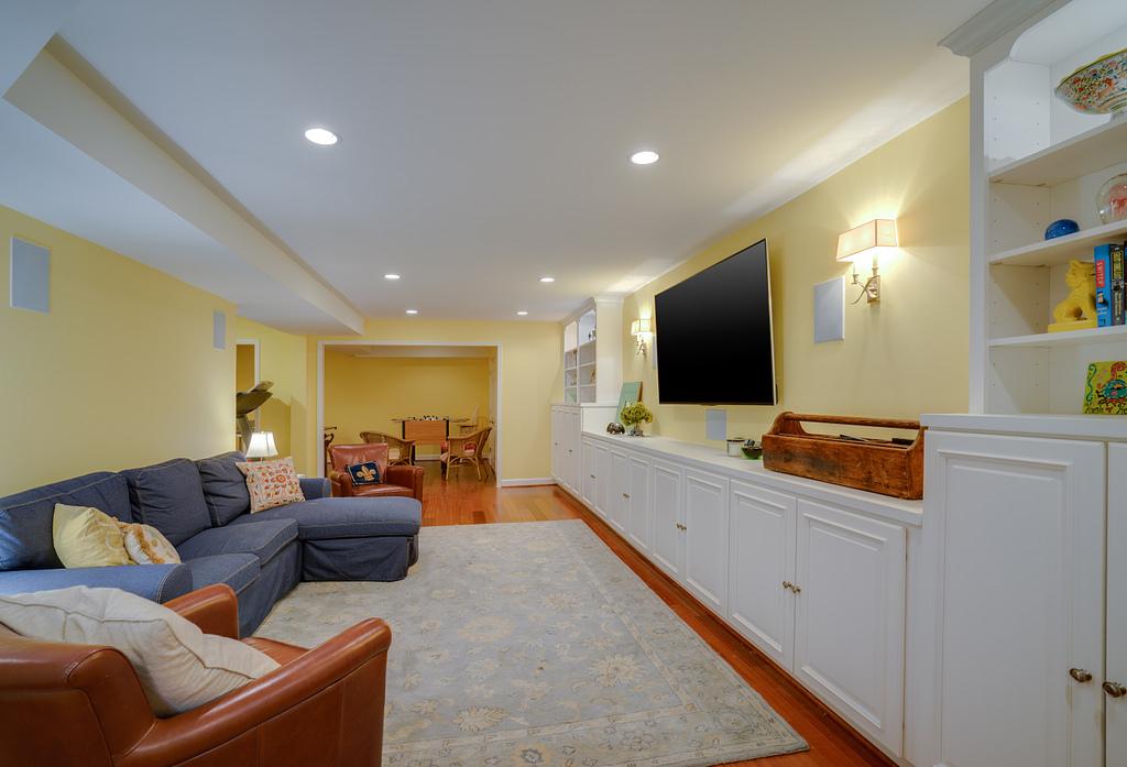 Basement Design Ideas in Northern Virginia