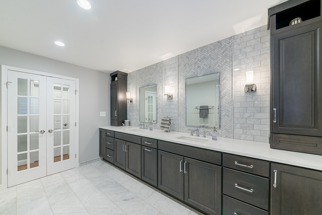 Professional Master Bath Renovation in Northern Virginia