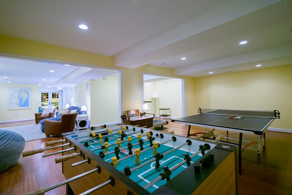Living Room Design in Northern Virginia