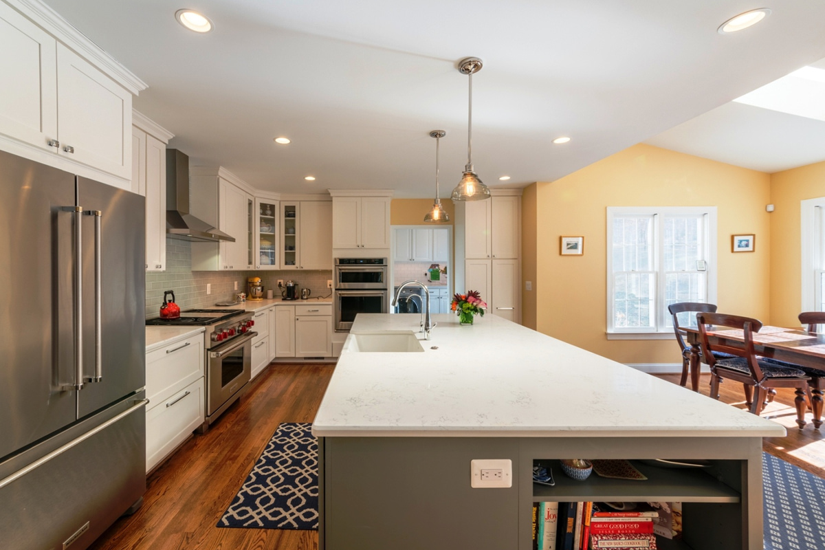custom kitchen renovations by daniels design & remodeling