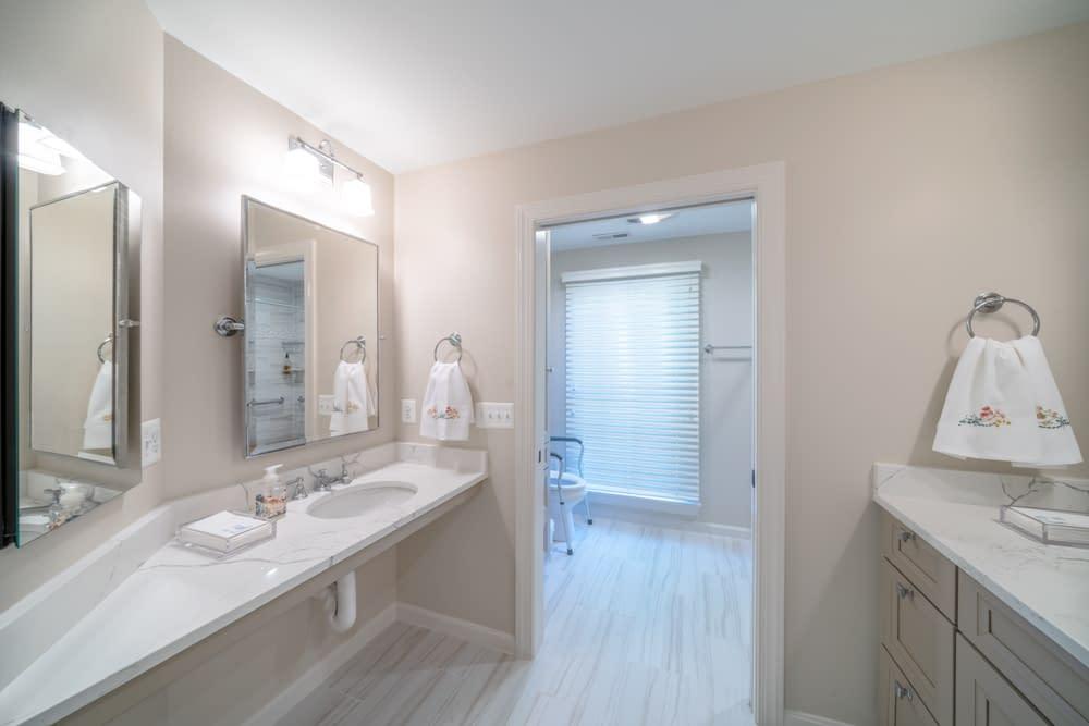 master bath remodel by daniels design & remodeling