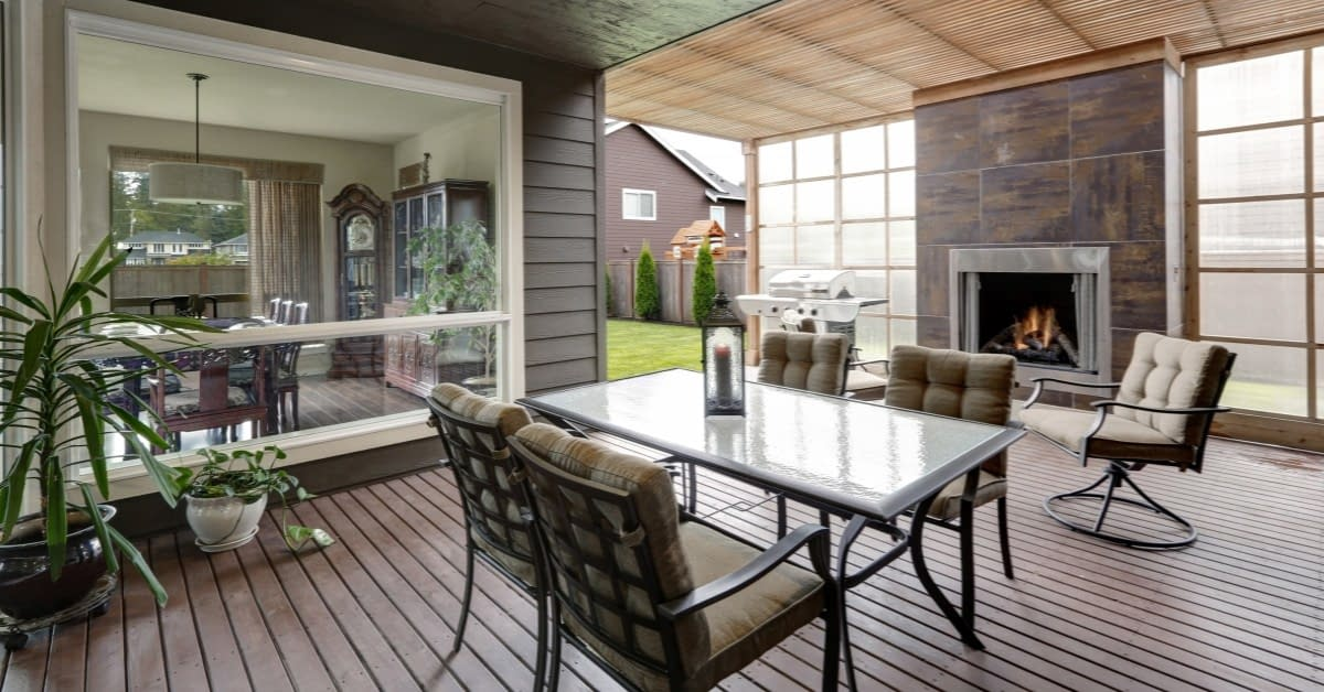 Reasons to Add an Enclosed Patio daniels design & remodeling northern virginia