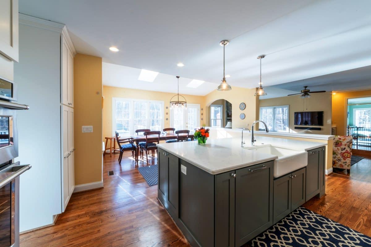 custom kitchen islands by daniels design & remodeling