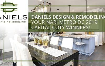 Daniels Design & Remodeling: Your NARI Metro DC 2019 Capital CotY Winners!