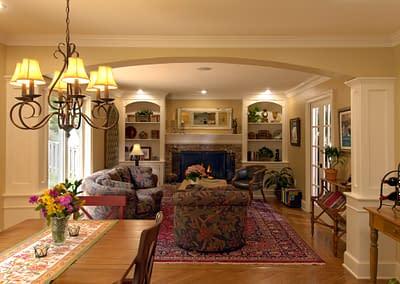 Living Room Remodel in Northern Virginia