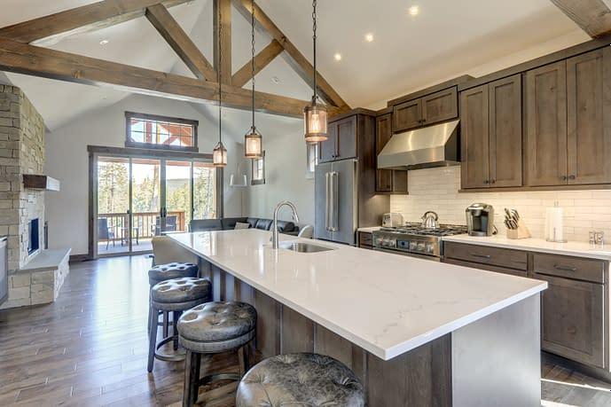 rustic kitchen design style