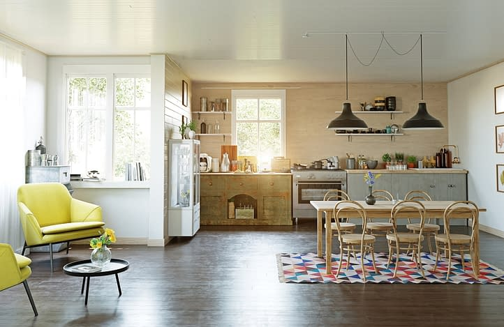 cottage kitchen design style