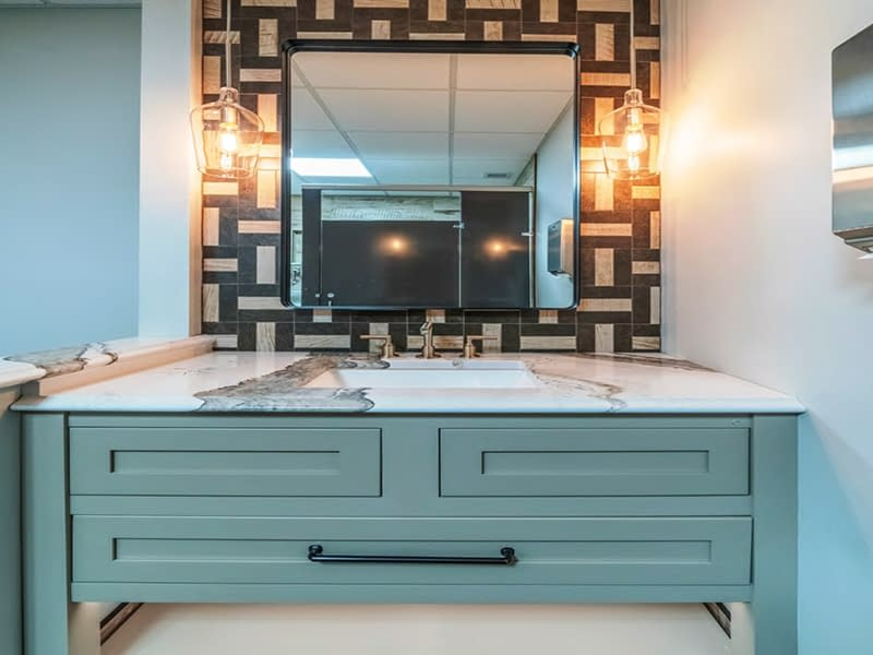 bathroom renovation services by daniels design & remodeling