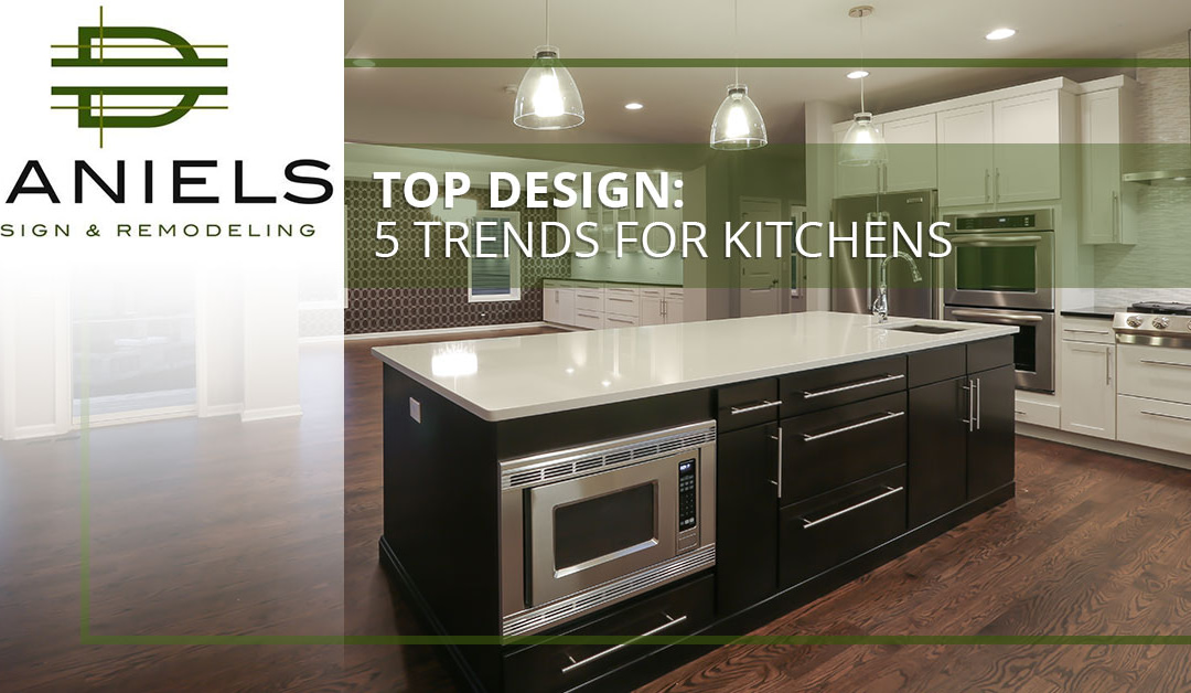 Top Design: 5 Trends for Kitchens