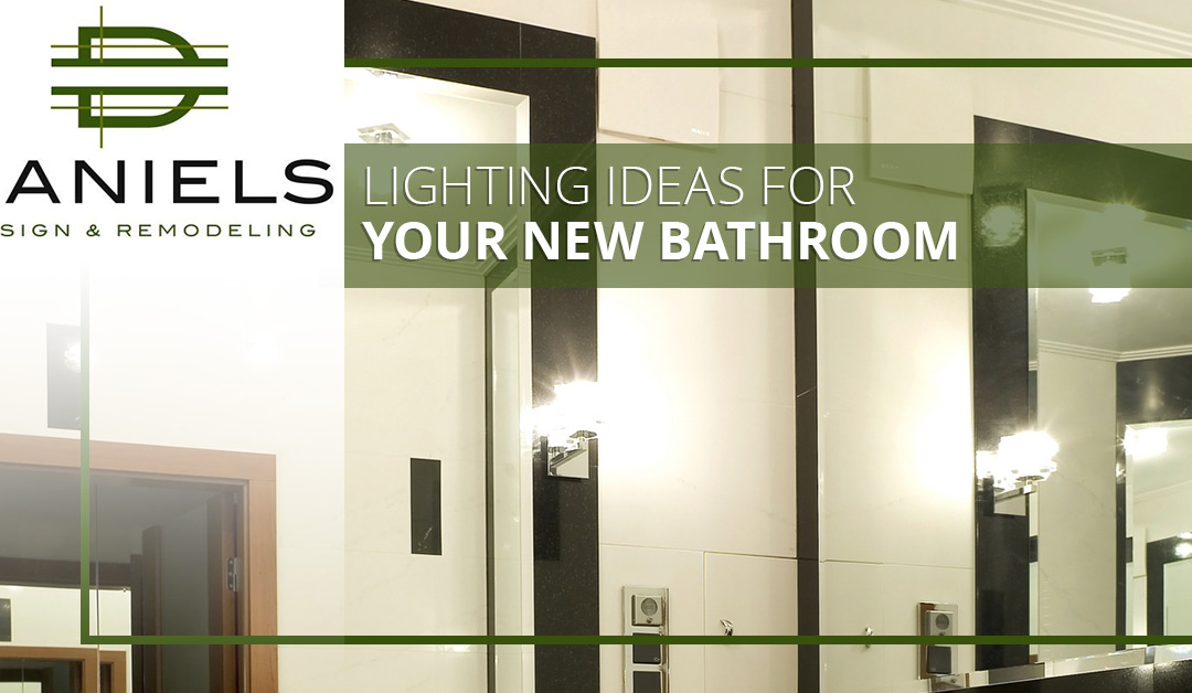 Lighting Ideas for Your New Bathroom
