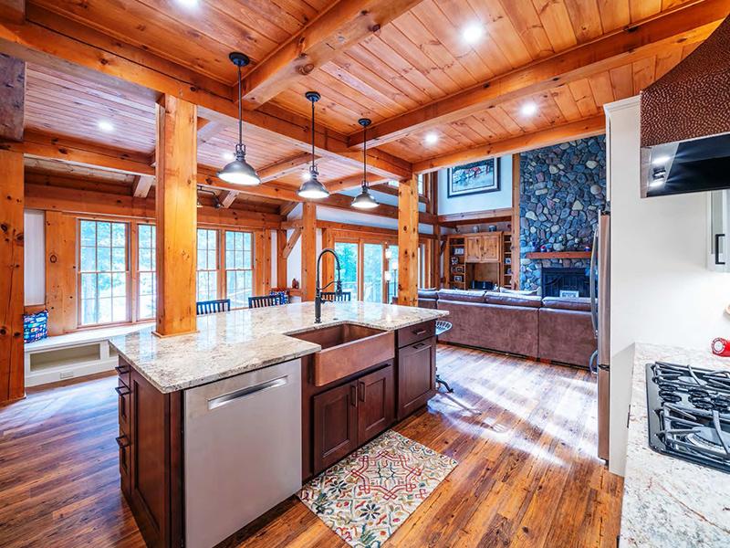 rustic kitchen remodel in fairfax